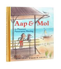 Aap & Mol in Museum Panorama Mesdag, gouden boekje