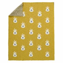 Gebreide deken Pineapple