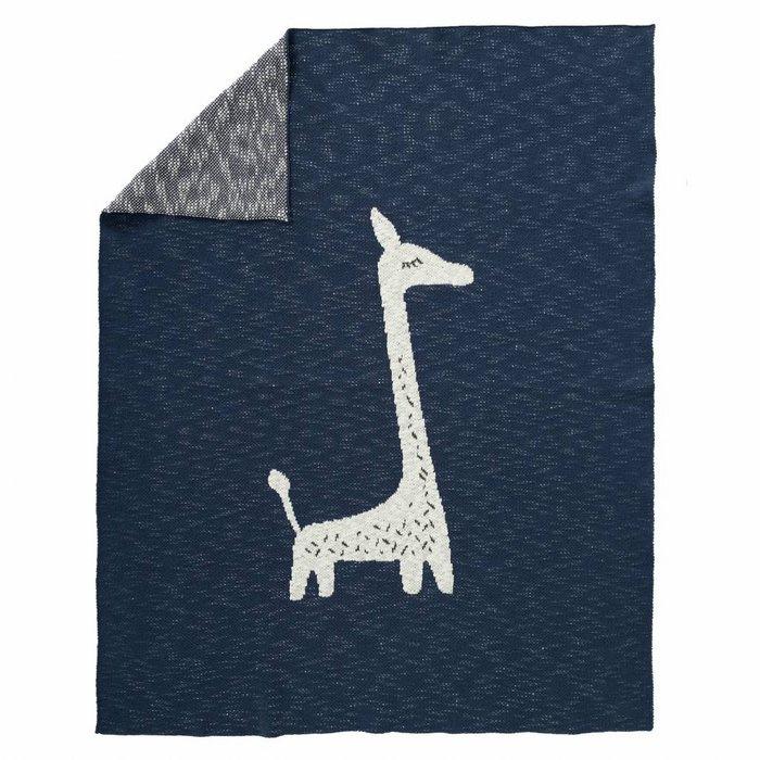 Gebreide deken Giraf