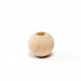 Houten kraal 12 mm