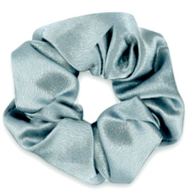 Scrunchie Silky Blauwgrijs