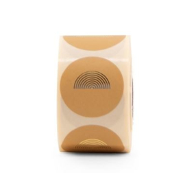 Sluitzegel sticker | RAINBOW | honing 20 stuks