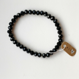 Armband kralen zwart