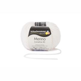 Schachenmayr Merino Extrafine 85 crèmewit
