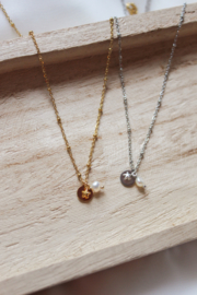 Pearl coin - Necklace