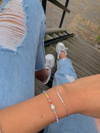 Rainbow pearl - bracelet