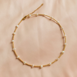 All the pearls - Choker