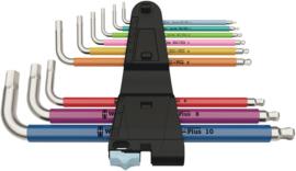 RVS Inbus Sleutelset 1,5 - 10 mm