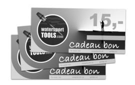 Cadeaubon Watersporttools