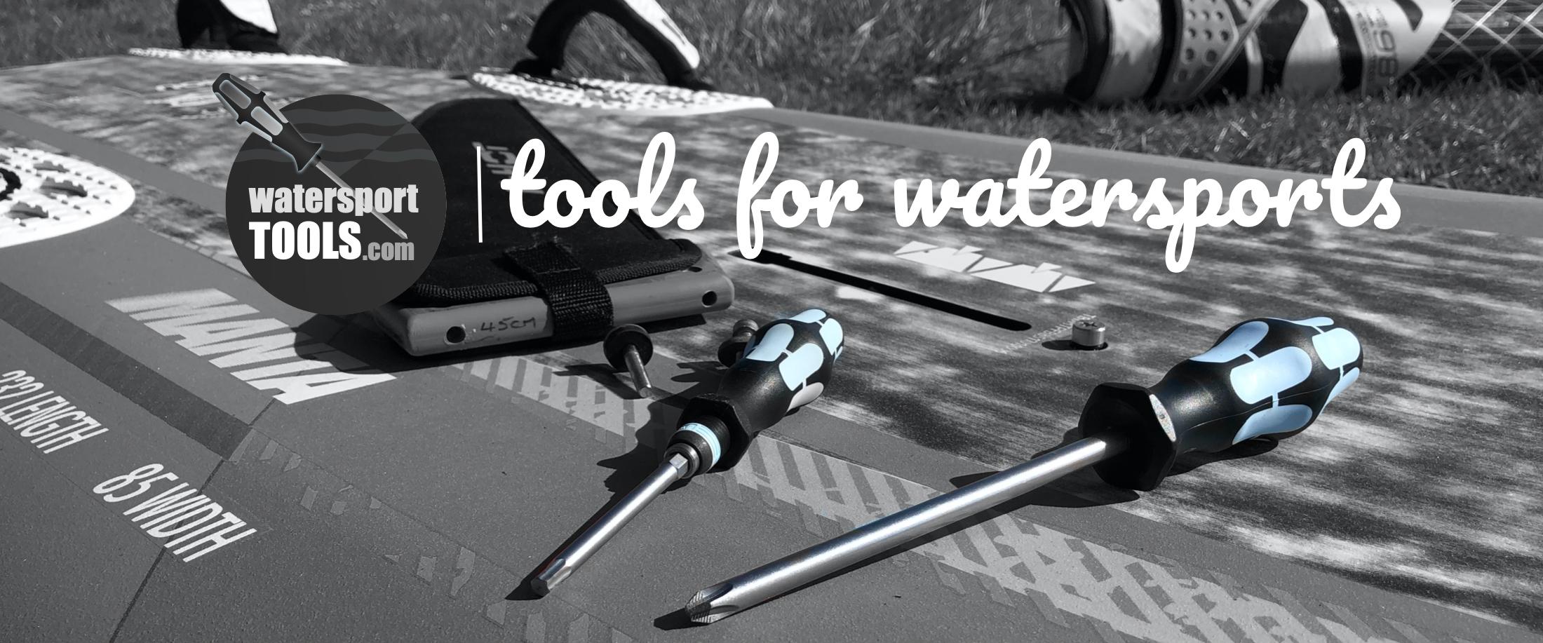 Gereedschap voor watersporters