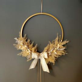 Wandhanger ronde krans 30cm