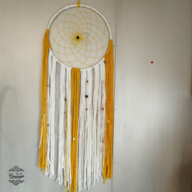 40x100cm dromenvanger geel wit
