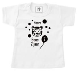 Verjaardag T-Shirt | Tijger