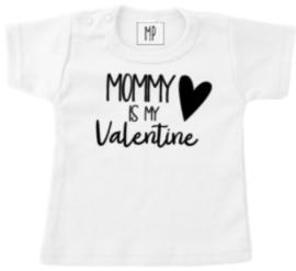 Valentijn T-shirt | Mommy is my valentine