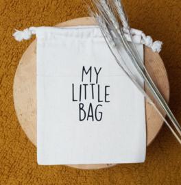 Katoenen tasje  | My little bag