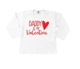 Strijkapplicaties  | Valentijn | Daddy is my valentine