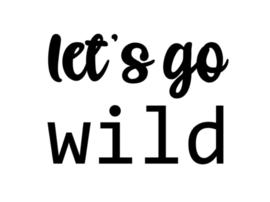 Strijkapplicatie | Let's go wild