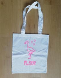 1 flamingo inkleurtas