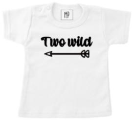 Verjaardag T-Shirt | Two wild | sierlijk