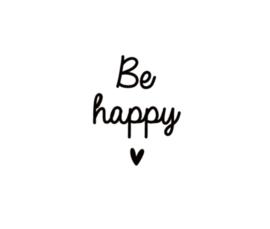 Strijkapplicatie | Be happy