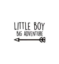 little boy big adventure pijl