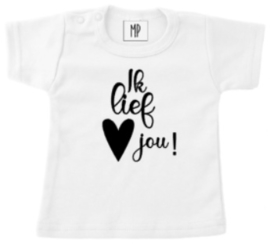 Familie T-shirt | Ik lief jou