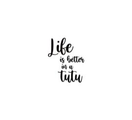 Strijkapplicatie | Life is better in a tutu