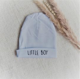 Newborn mutsje in diverse kleuren |  Little boy