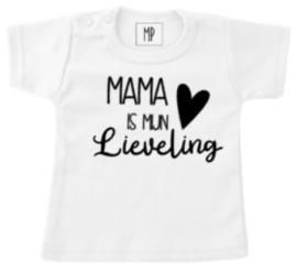 Familie T-shirt  | Mama is mijn... met eigen koosnaampje!