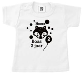Verjaardag T-Shirt | Vos