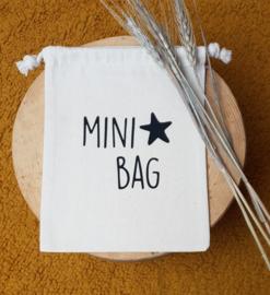 Katoenen tasje | Mini bag