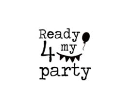 Strijkapplicatie | Ready 4 my party