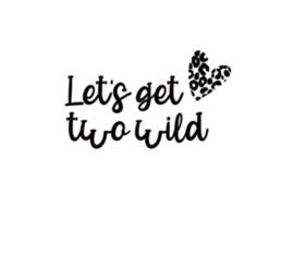 Strijkapplicatie | Two wild