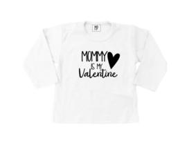 Strijkapplicatie | Valentijn | Mommy is my valentine