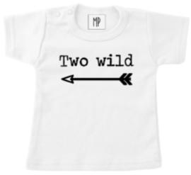 Verjaardag T-Shirt | Two wild | Stoer