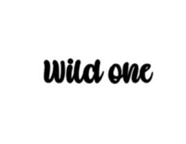 Strijkapplicatie | Wild one
