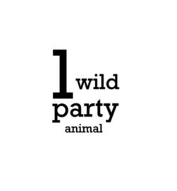 Strijkapplicatie | Party animal | Stoer