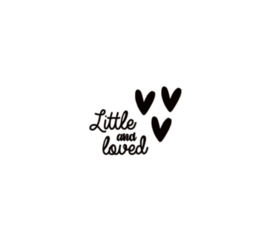 Raamsticker | Little and loved