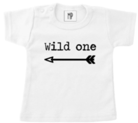 Verjaardag T-Shirt 1 jaar | Wild one | Stoer