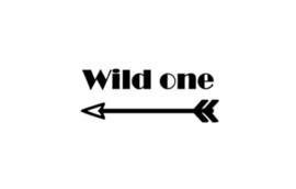 Strijkapplicatie | Wild one | Stoer