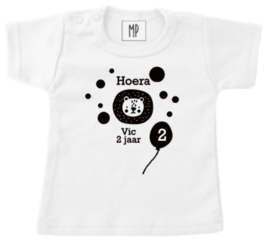 Verjaardag T-Shirt | Leeuw
