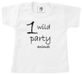 Verjaardag T-Shirt | Party animal | Sierlijk