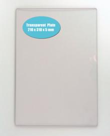 Nellie choice NPBT001 transparante snijplaat 5mm voor PressBoss A4