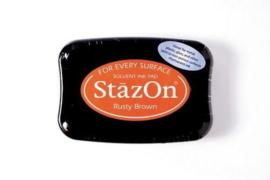Stazon inktpad Rusty Brown SZ-000-042