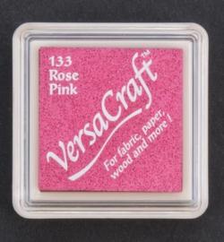 VK-SML-133 Versacraft inkpad small Rose Pink