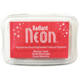 Radiant Neon inkpad electric Coral NR-000-73
