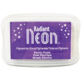 Radiant Neon inkpad electric Purple NR-000-75