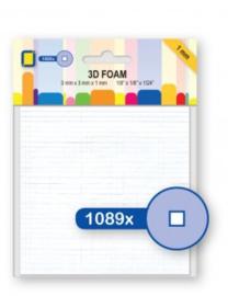 JeJe 3D Foam mini blokjes 1mm