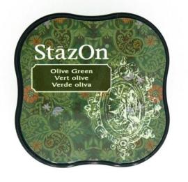 Stazon inktpad Midi Olive Green SZ-MID-51