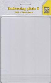 Nellie choice APB001 acryl plaat-B 197x150x3mm (A5) transparante plaat voor de cutlebug en de bix shot